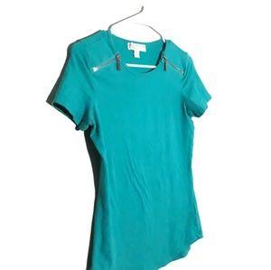 Michael Kors Short Sleeve Top Size S